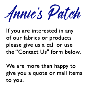 Fabrics, Patchwork, Quilting, Scrapbooking, Felting and Sewing Machines - Annies Patch Denmark WA
